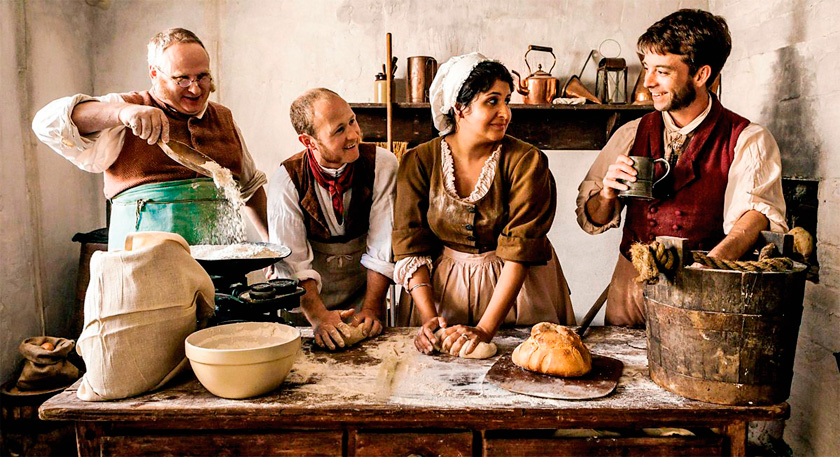 1800'lü yıllarda ekmek, haftalık maaşa eşdeğer fiyattaydı.