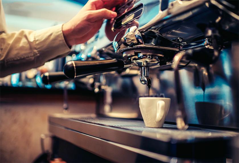Makine, değirmen, harman ve barista... Bu dördünün mükemmel denebilecek kadar hatasız oluşu, espresso'yu da kusursuz hale getiriyor...